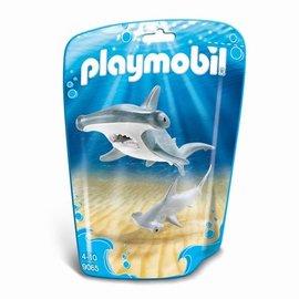 Playmobil Playmobil - Hamerhaai met jong (9065)