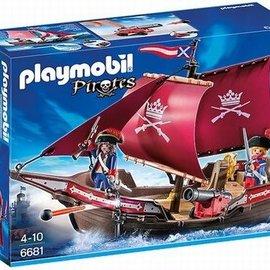 Playmobil Playmobil - Soldatenzeilschip met kanonnen (6681)