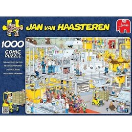 Jumbo Jan van Haasteren - Chocoladefabriek  (1000 stukjes)