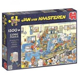 Jumbo Jan van Haasteren - De drukkerij (1500 stukjes)
