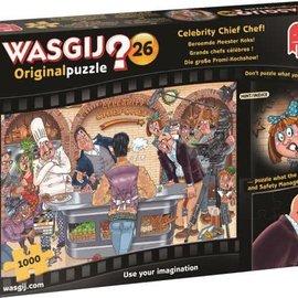 Jumbo WasGij Origineel 26- Meester koks (1000 stukjes)