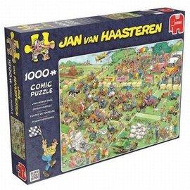 Jumbo JvH - Grasmaaierrace ( 1000 stukjes)