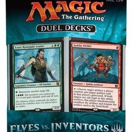 Magic the Gatharing - Elves vs Inventors Duel decks