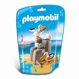 Playmobil Playmobil - Pelikaanfamilie (9070)