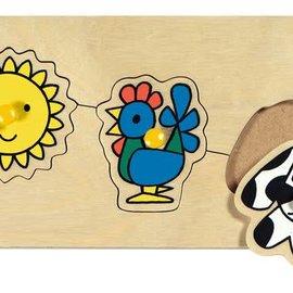 Ravensburger Ravensburger Houten puzzel Nijntje op de boerderij