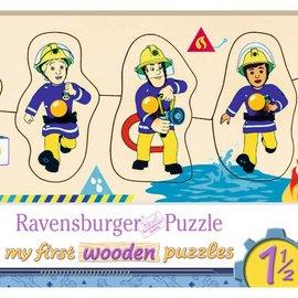 Ravensburger Ravensburger Houten puzzel - Brandweerman Sam