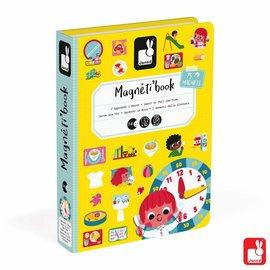 Janod Janod Magneetboek - Klok kijken