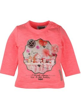 Difrax Baby t-shirt with frills