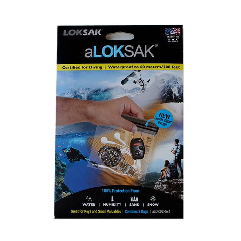 Loksak Bags: Set of Two 5 x 4