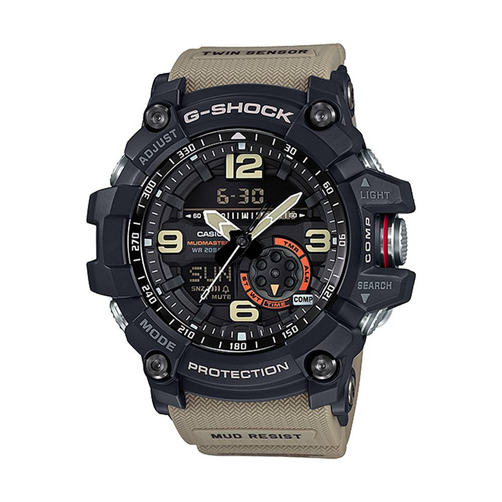 Casio G-Shock Mudmaster Twin Sensor [Sand] - R1950 OFF