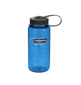 Nalgene Wide Mouth 500ml Water Bottle, Blue