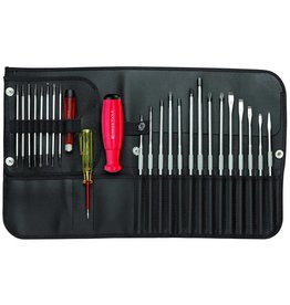 PB Swiss Tools S/Driver Set Allrounder Roll Up Case
