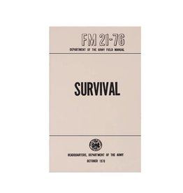 Rothco Survival Manual 1970 Military Issue