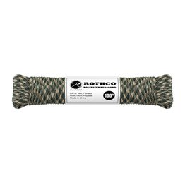 Rothco Polyester Paracord 100ft CAMO