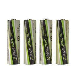 Goal Zero AA Rechargeable Batteries (4 Pack) - 20% OFF