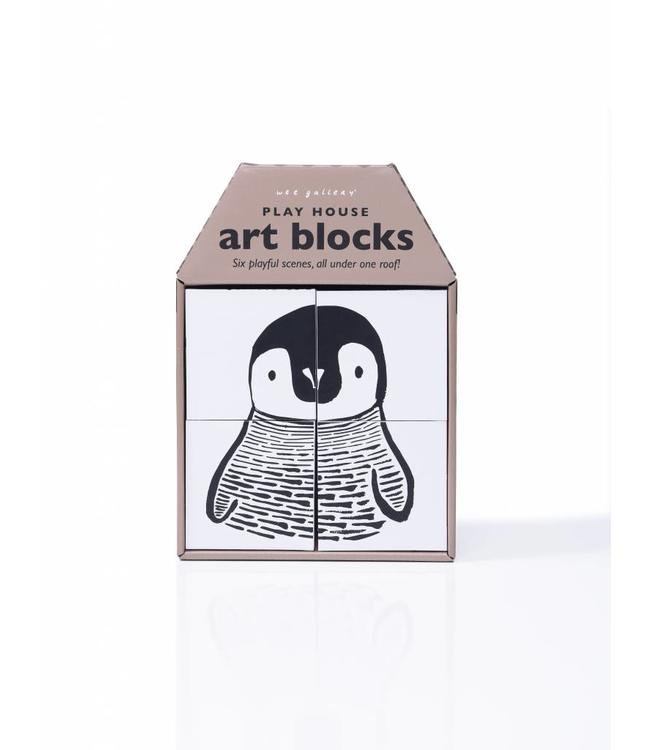 Wee Gallery Wee Gallery Play House Art Blocks Play