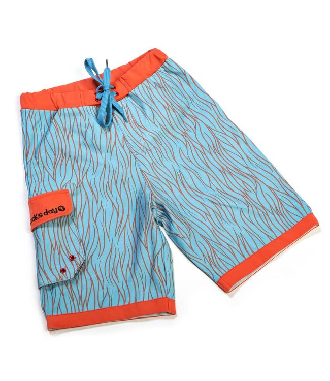 Ducksday Ducksday Badehose UV 50+ swirl