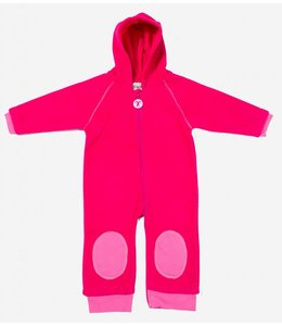 Ducksday Ducksday Fleece-Anzug fuchsia