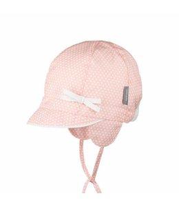 pure pure pure pure Cap Baby mit UV-Schutz peach