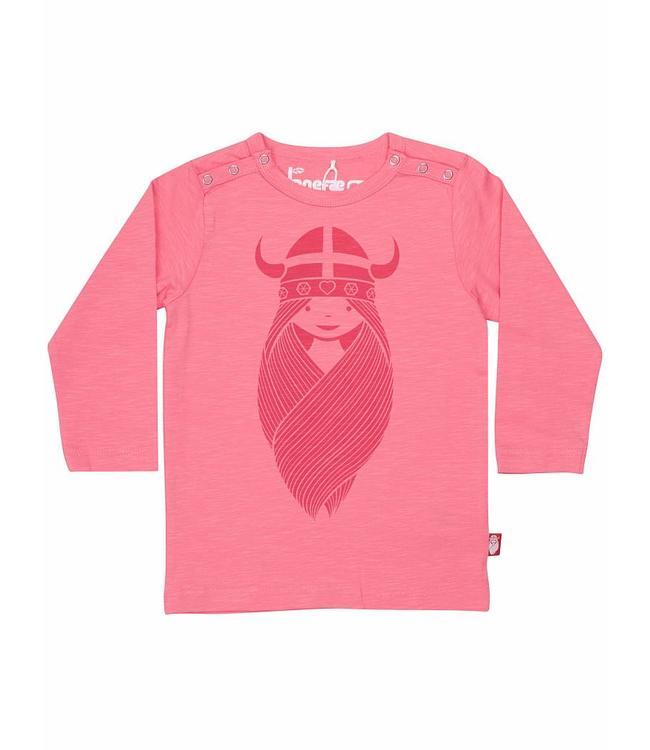 Danefæ Danefæ Langarmshirt Organic Freya pink