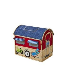 RICE Rice Spielzeugkiste Happy Camper klein