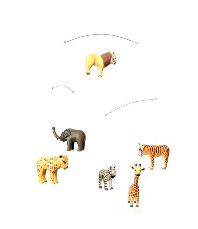 Geggamoja Geggamoja Holzmobile Safari Animals