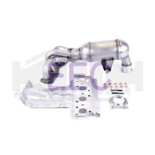 EEC Catalyst Peugeot 207 / Mini Cooper, One / Citroen C4