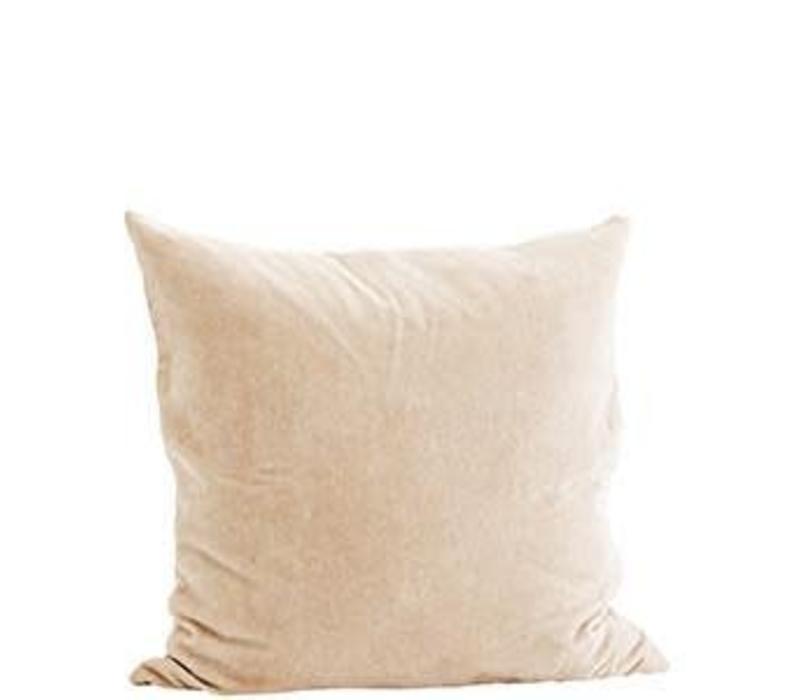 Velvet Cushion Nude