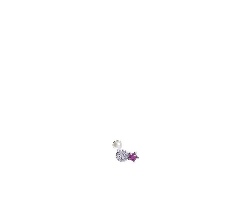 Jolie Triple Pink Silver