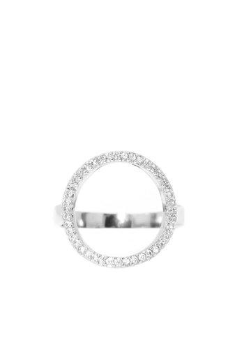 Les Soeurs Chloe Circle Silver
