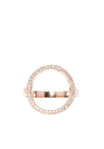 Les Soeurs Chloe Circle Gold