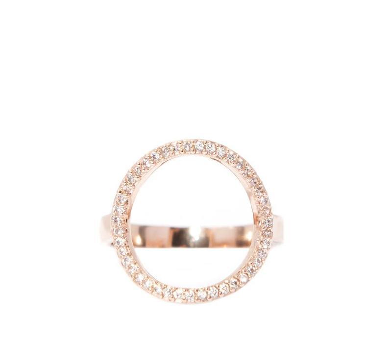 Chloe Circle Gold
