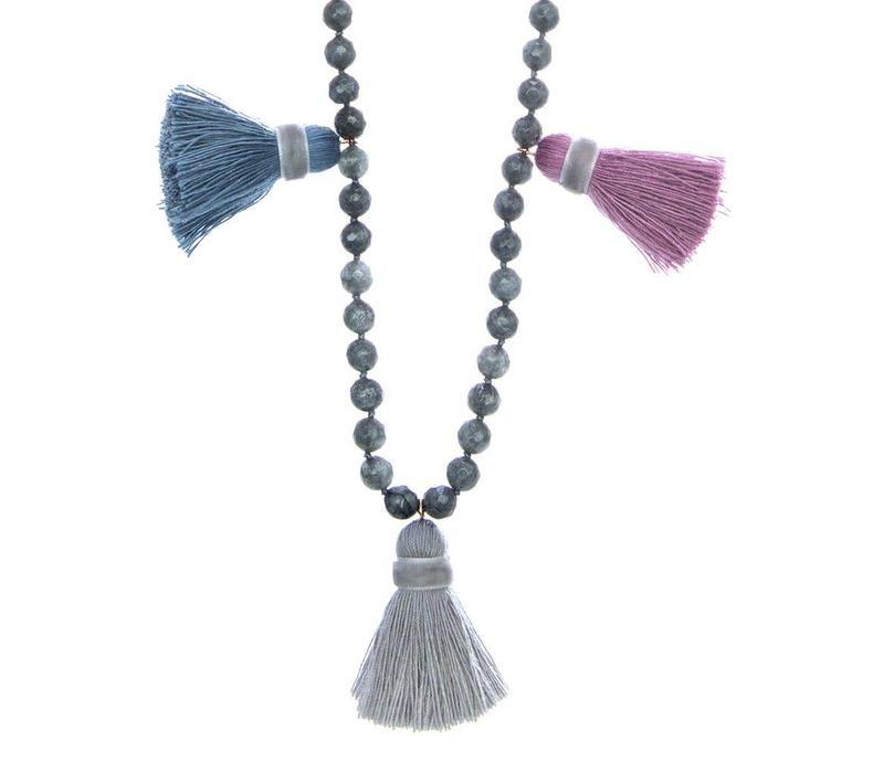 Saloma Blue/Grey/Purple