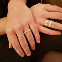Chloe Triangle Gold