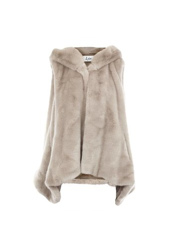 LJVE Giada Faux Fur Bodywarmer Mink
