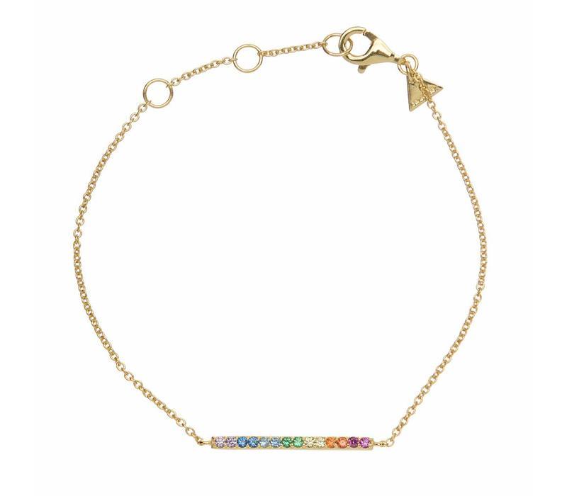 Hugo Barre Multicolor Gold