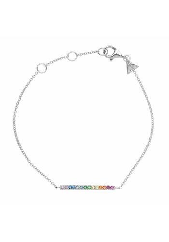 Les Soeurs Hugo Barre Multicolor Silver