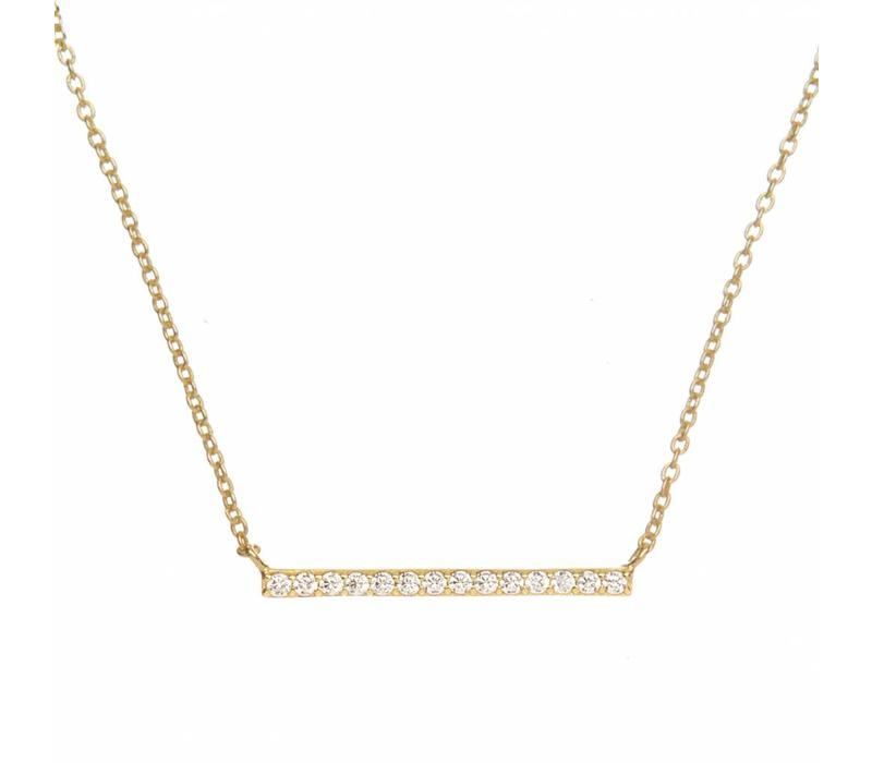 Romee Barre Strass Gold