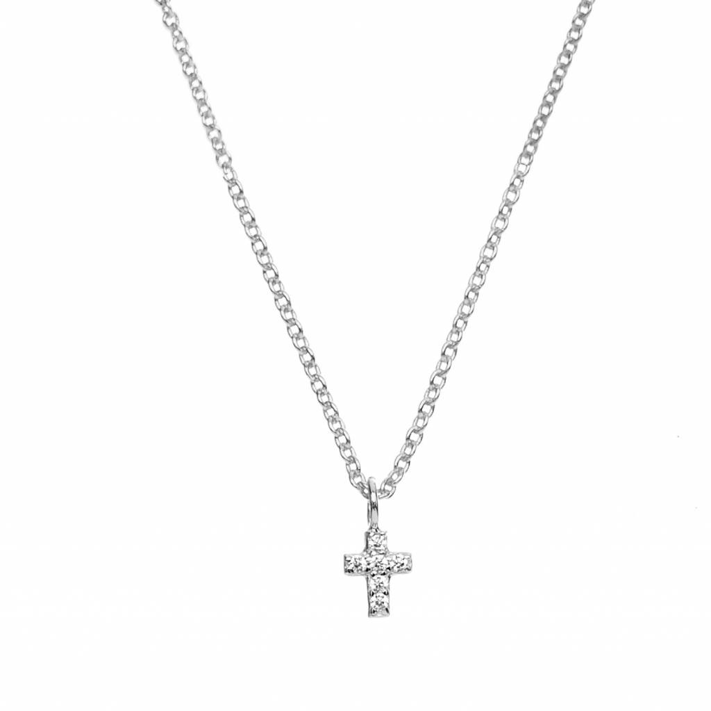 Romee Cross Silver