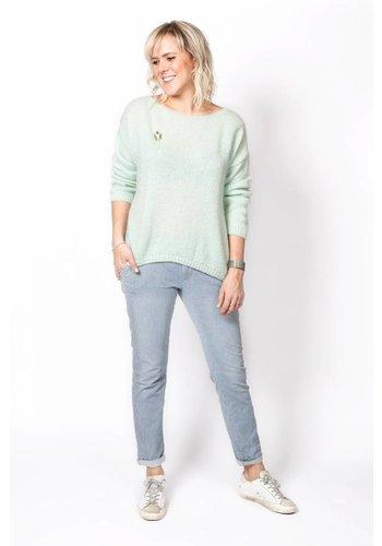 Reiko Trousers Sandy Stripes