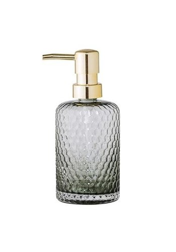 Bloomingville Soap Dispenser Glass Grey