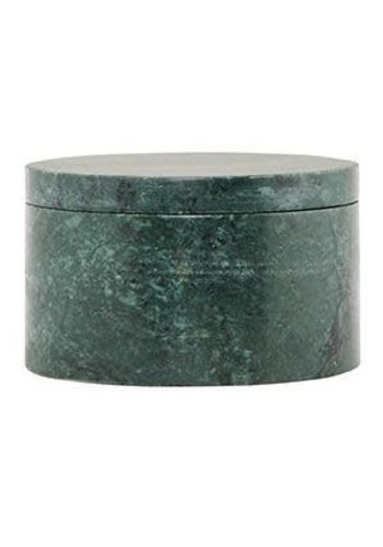 House Doctor Marble Box Green