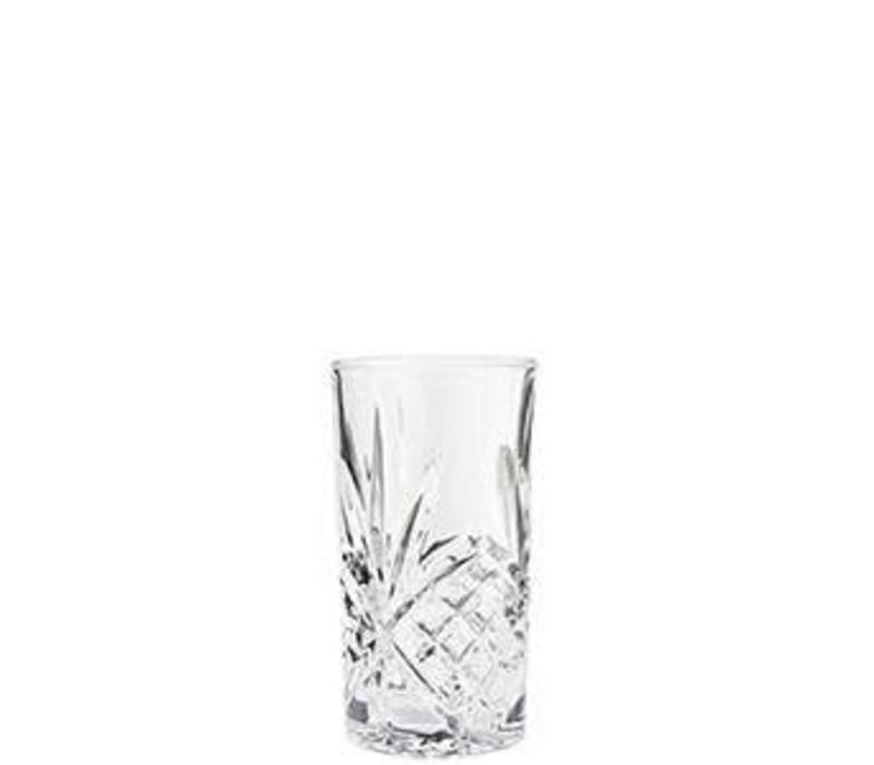 Longdrink Glass Cutted Clear