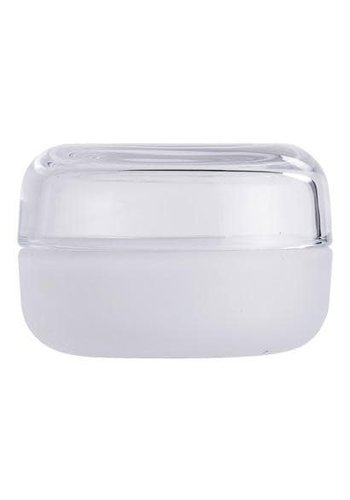 Bloomingville Jar With Lid White