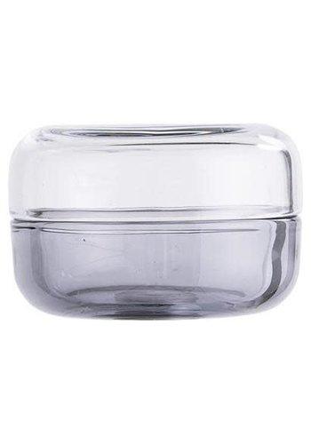 Bloomingville Jar With Lid Grey
