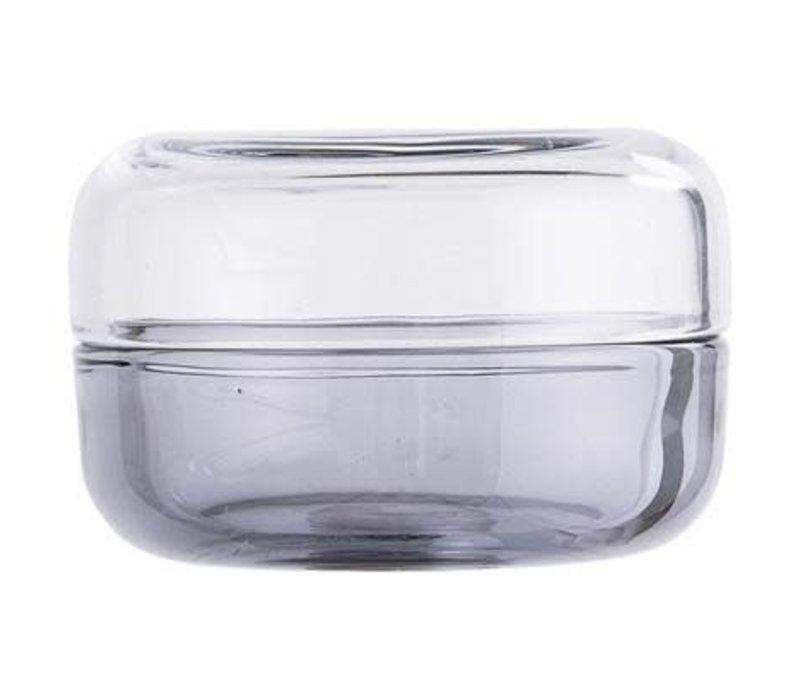 Jar With Lid Grey