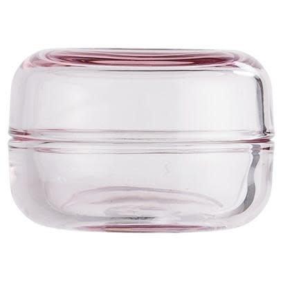 Jar With Lid Light Pink