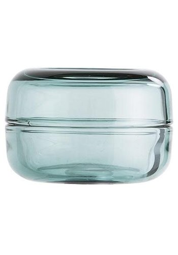 Bloomingville Jar With Lid Green