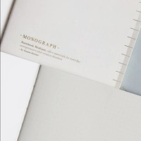 Notebook Soft Grey  A4