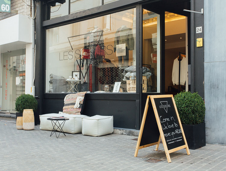Les Soeurs Store Antwerp 1